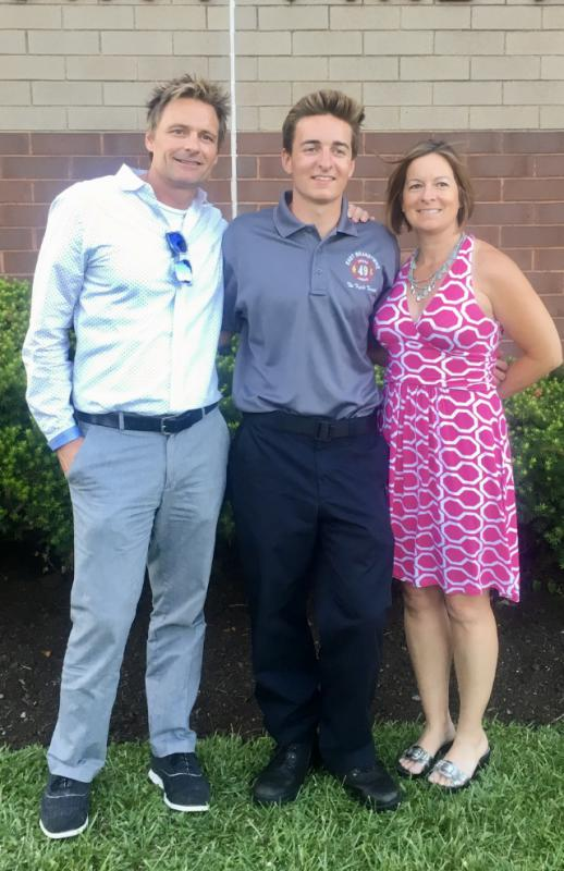 FF/EMT Peat and his Parents
