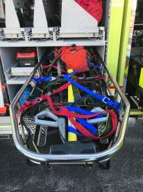 Our RIT equipment has been preloaded in a stokes basket for easier deployment