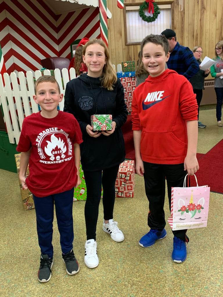Santa's Helpers - the next generation of volunteers