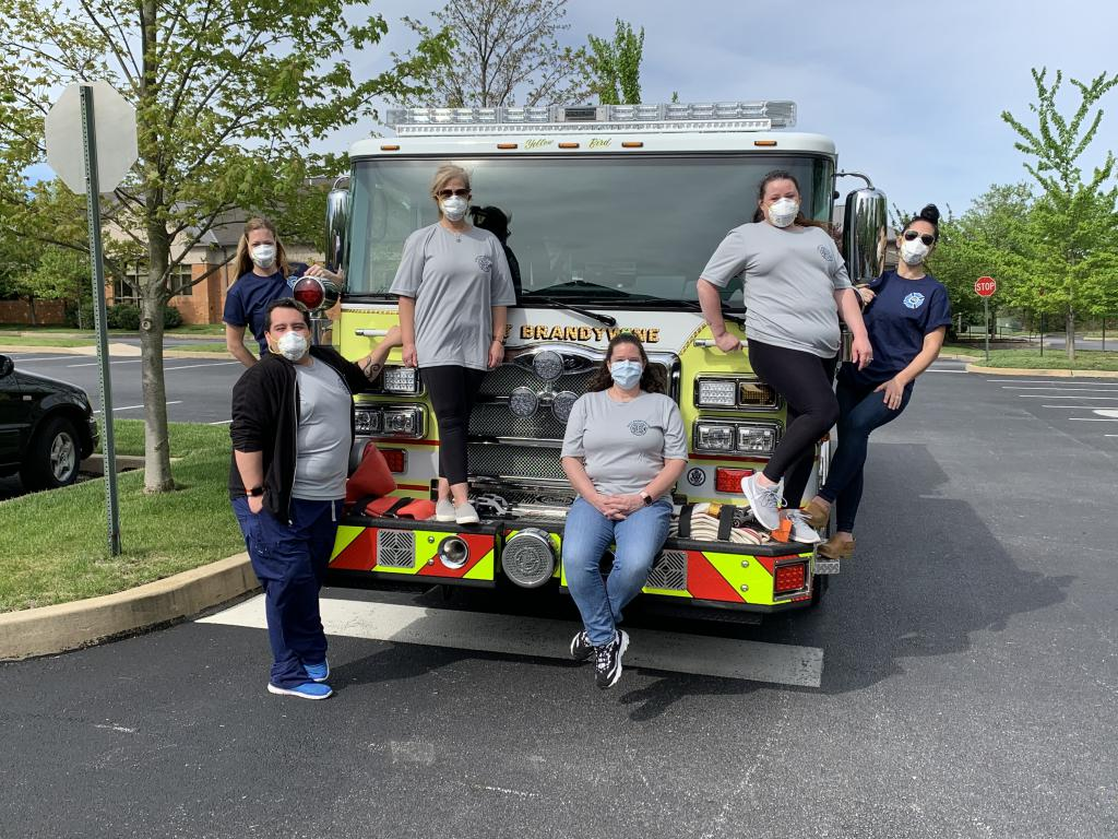 Thank-you to the team of medical professionals who volunteered their Saturday to help us!