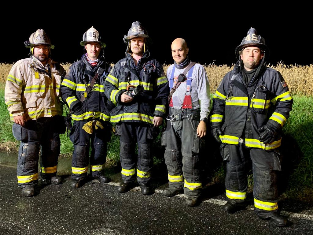 Crew from Rescue 49