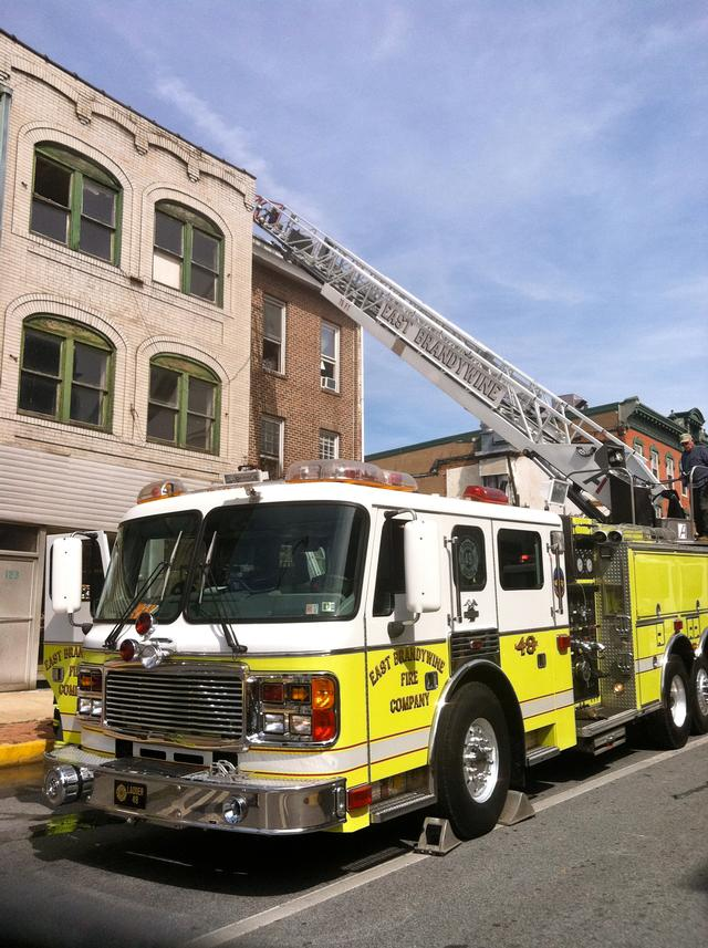 Apartment Fire in the City of Coatesville - East Brandywine Fire Company