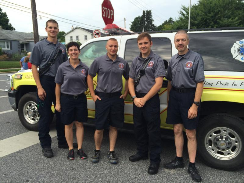 Downingtown Good Neighbor Day Festivites East Brandywine Fire Company