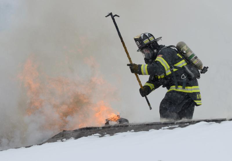 challenges of the fire department Fire protection & detection a high-rise building is one where an occupied floor is greater than 65 feet above the lowest level of fire department vehicle access.