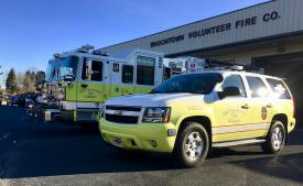 Stand-by provided for Wagontown Fire Company