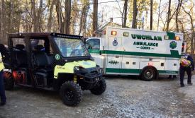 ATV response for a ill patient in Marsh Creek