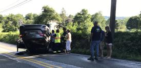 3 Vehicle Accident at Route 82 and Hibernia Road