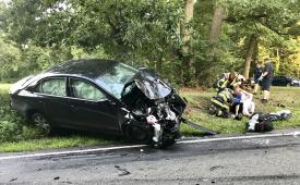 Route 82 and Hibernia Road accident