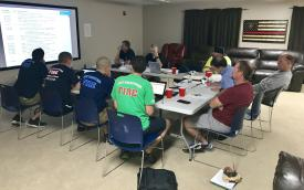 Our Apparatus Design and Development Committee meet regularly to design the most functional cost effective trucks possible