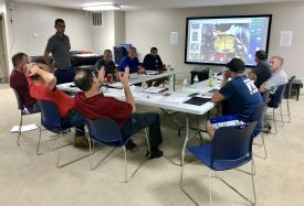 One of many joint Apparatus Committee meetings