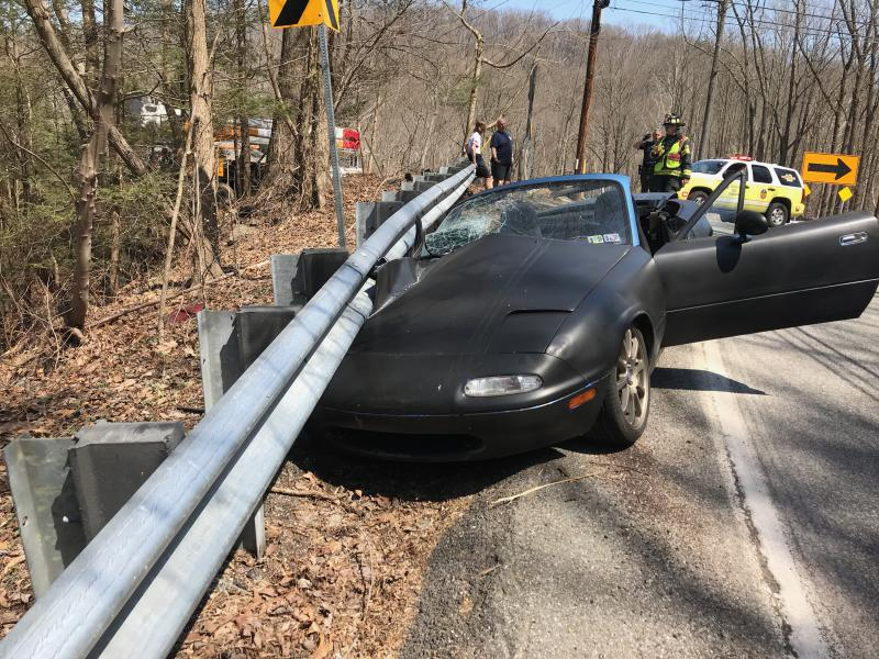 Auto-accident Creek Road